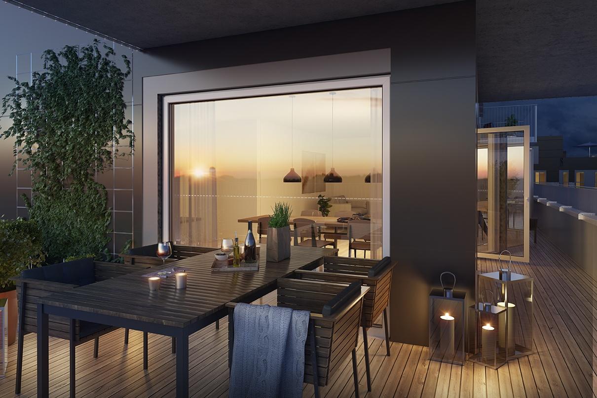 Lekre balkonger du kan invitere venner til